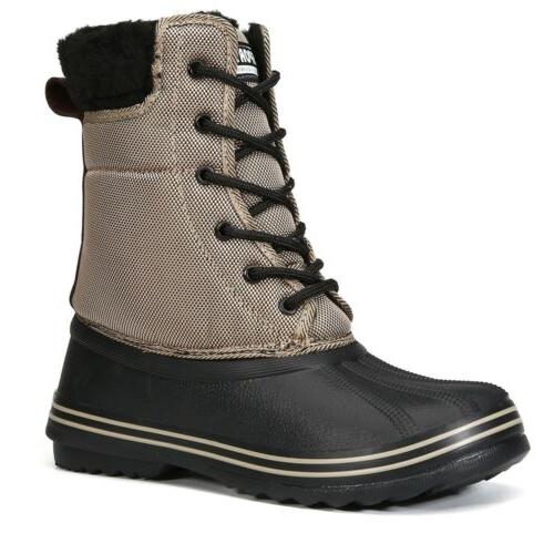 Wisstt Warm Snow Lace Up Boots Sizes