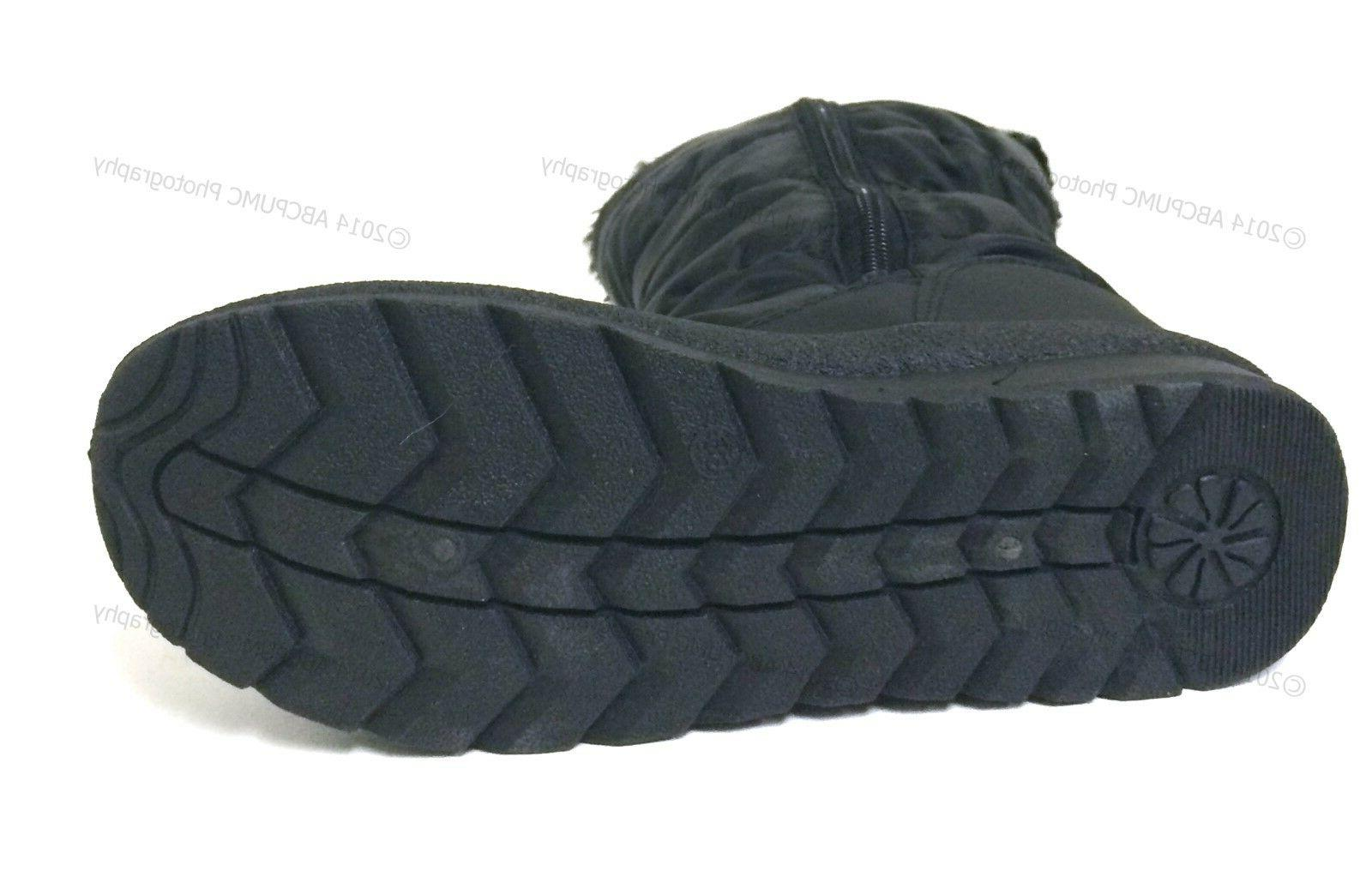 New Boots Fur Lined Insulated Zipper Shoes