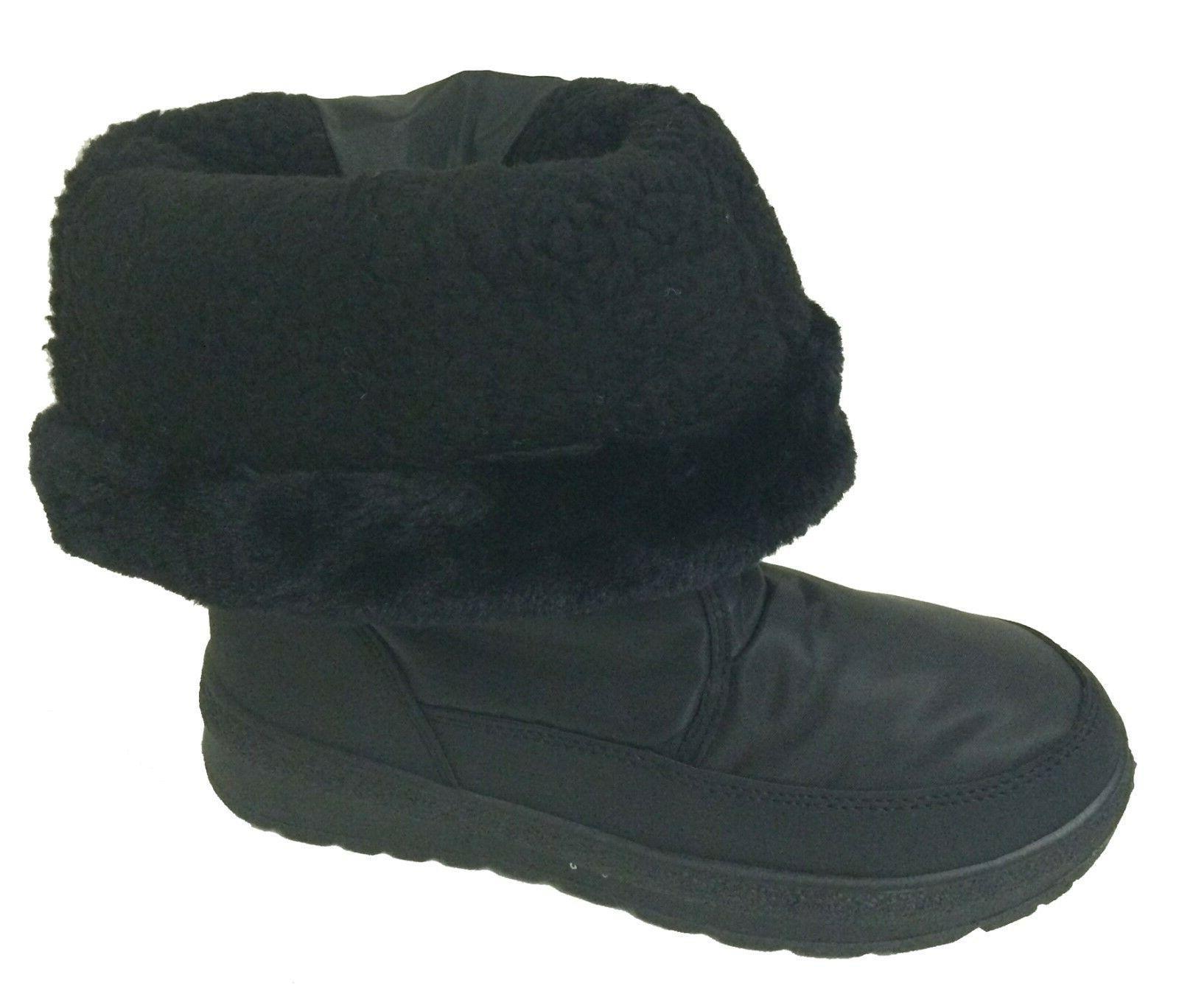 New Women's Boots Fur Lined Zipper Ski Snow Shoes