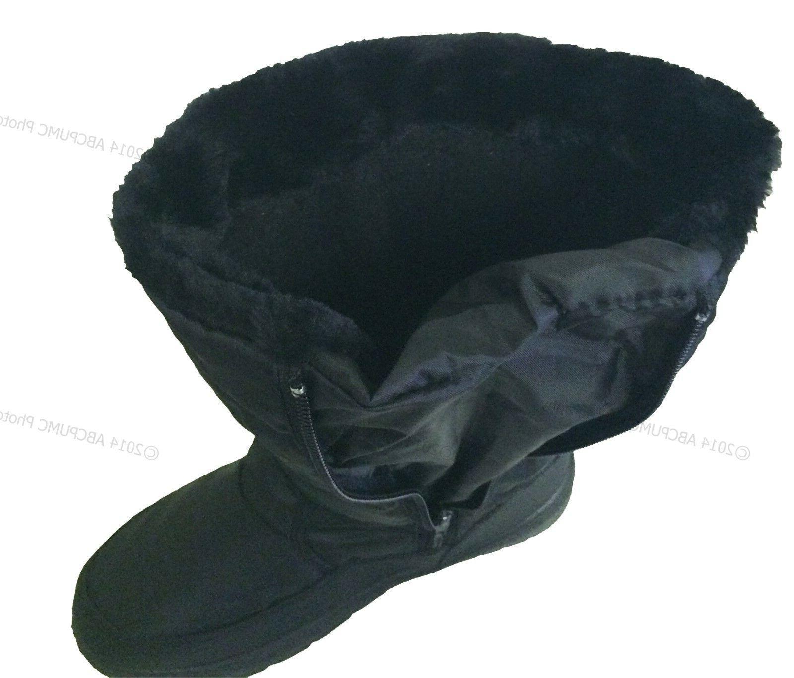 New Winter Boots Fur Zipper Snow