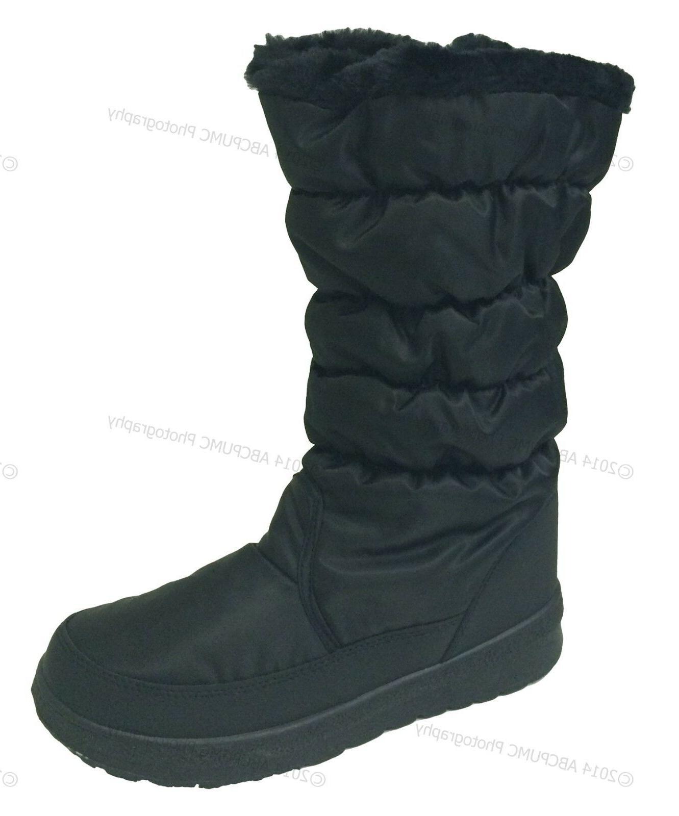 New Fur Lined Zipper Ski Snow Shoes