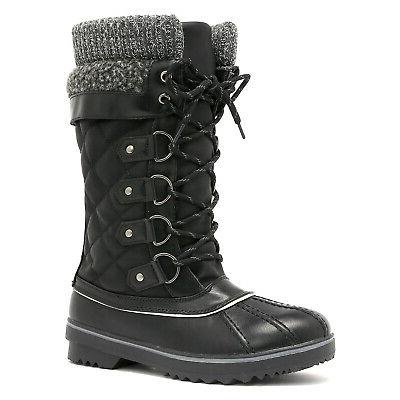 Women's Boots Fur Mid US