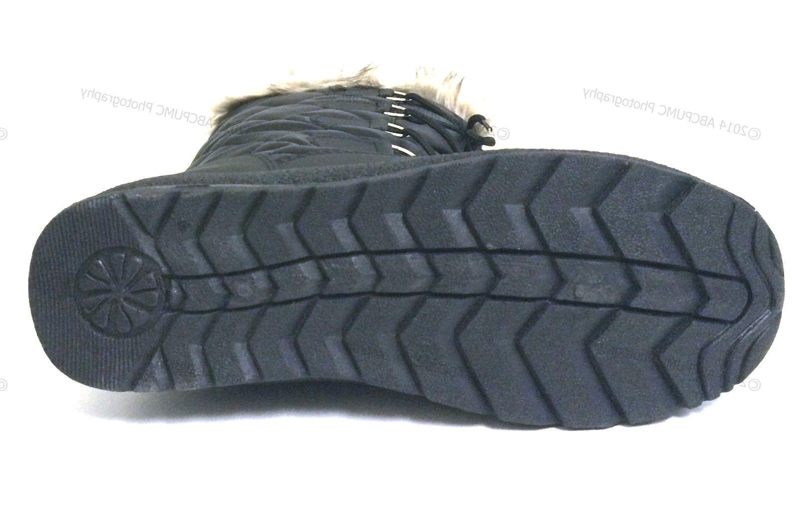 Women's Winter Boots Fur Zipper Shoes,