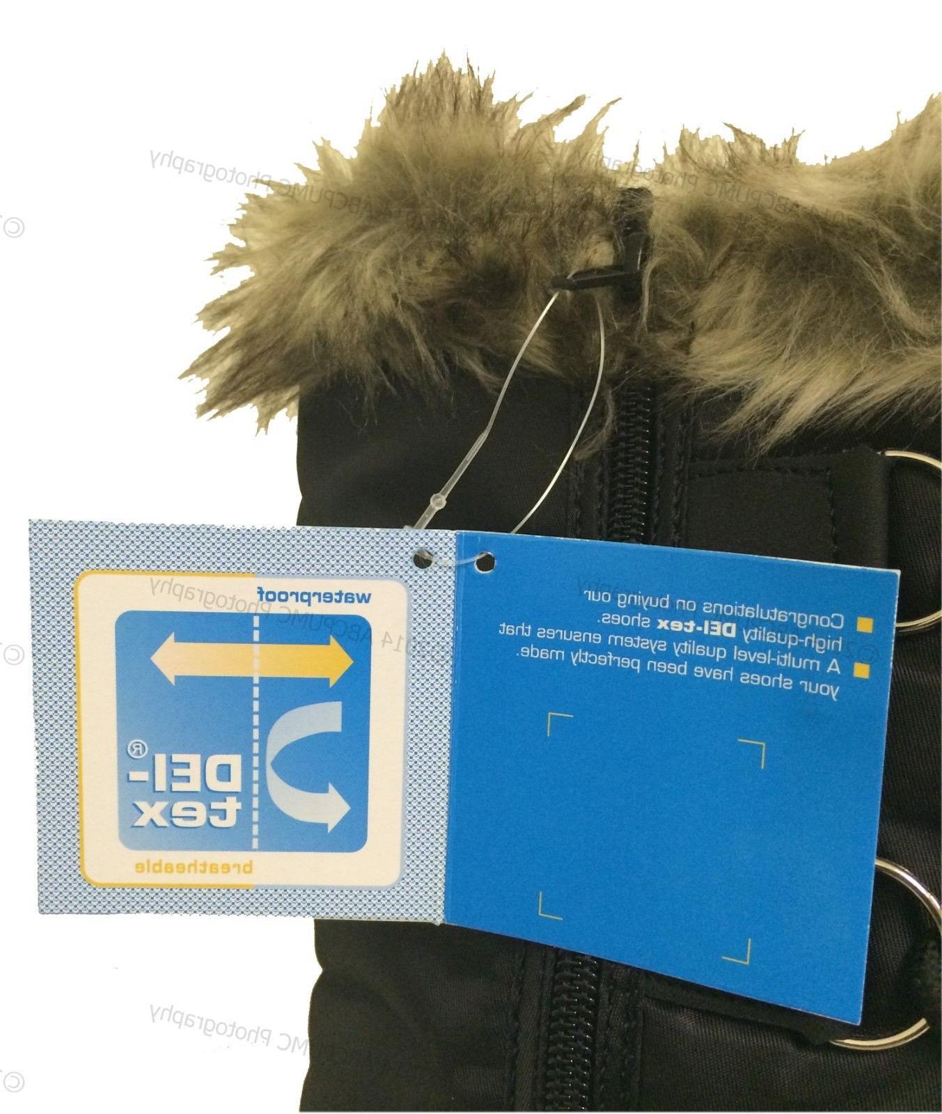 Women's Winter Boots Snow Fur Zipper