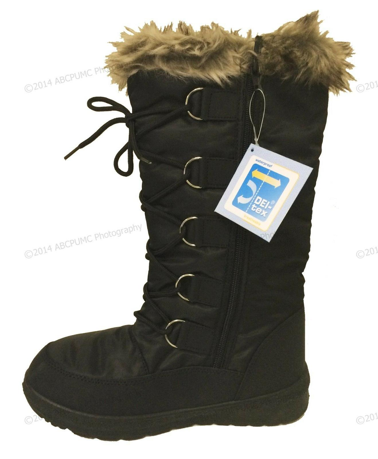 Boots Snow Insulated Waterproof Shoe