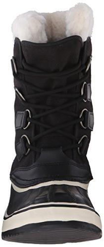 Sorel Winter Boot,Black/Stone,9 M