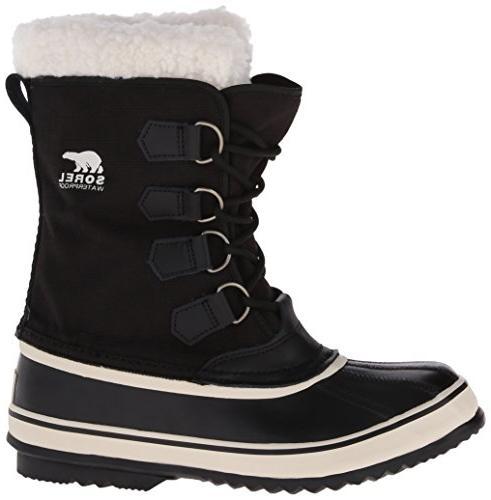 Sorel Carnival Boot,Black/Stone,9