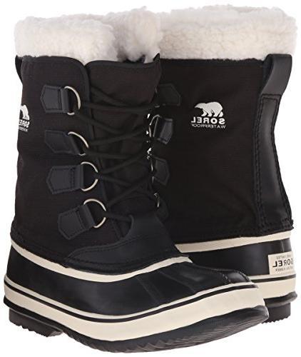 Sorel Women's Boot,Black/Stone,9