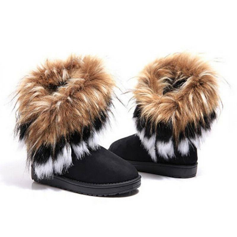 US Women's Casual Warm Platform Shoes