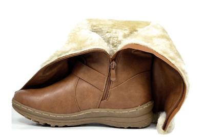 DREAM PAIRS Women's Fully Lined Closure Boots