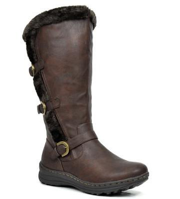 DREAM Women's Fully Lined Closure Snow Boots