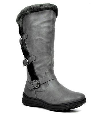 DREAM Fully Lined Zipper Closure Knee High Boots