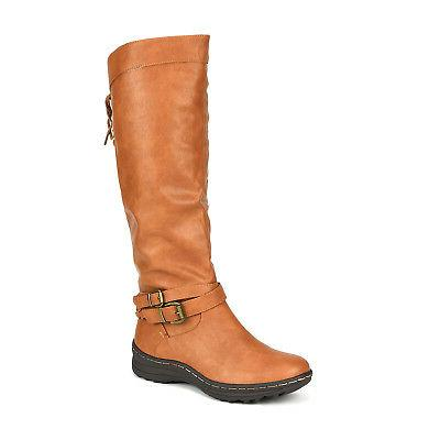 Dream Pairs TORKA Pull On Flat Mid Snow Boots