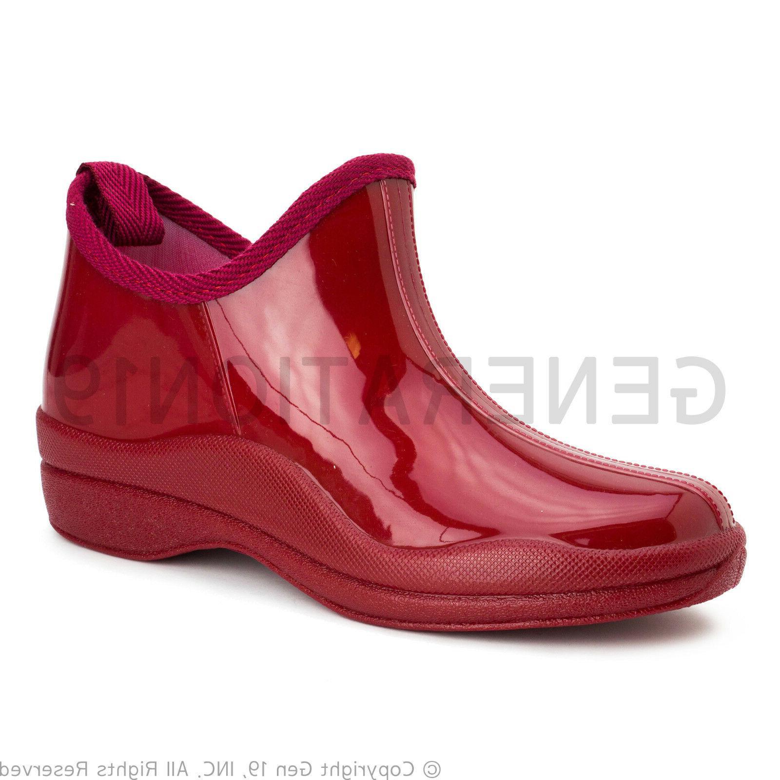 Womens Garden Waterproof Snow Boots RB46A