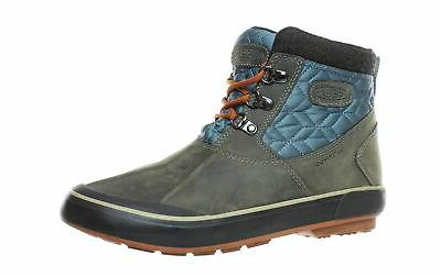womens elsa ii ankle quilted gray snow