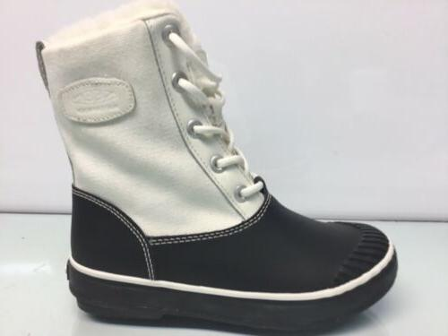 KEEN Womens White/Black Boots Size 5.*⭐️