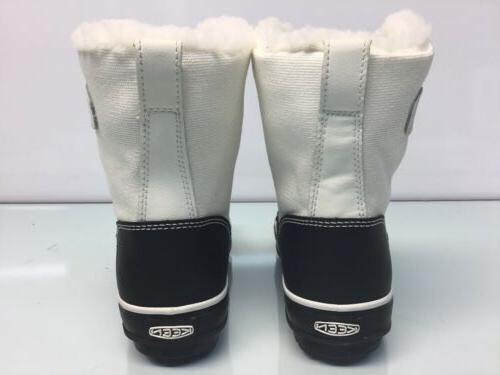 KEEN Womens White/Black Snow Boots Size 5.*⭐️