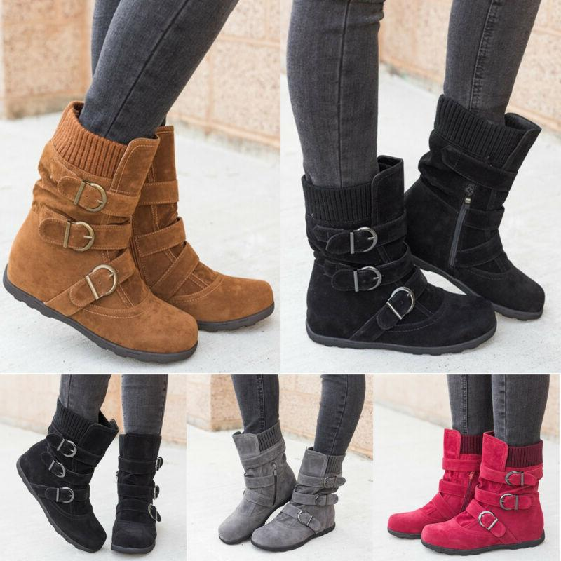 womens winter warm ankle boots ladies fur