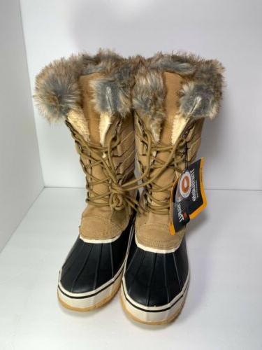 womens kathmandu honey snow boots size 10