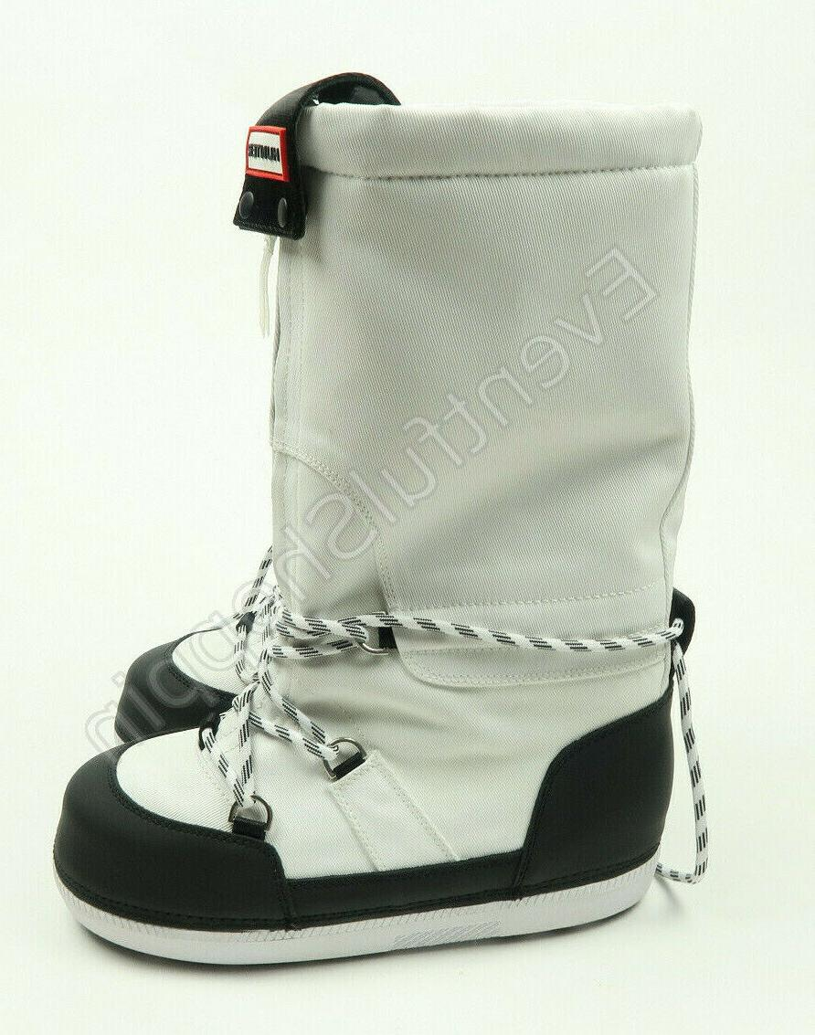 Hunter Platform Moon Boots Size