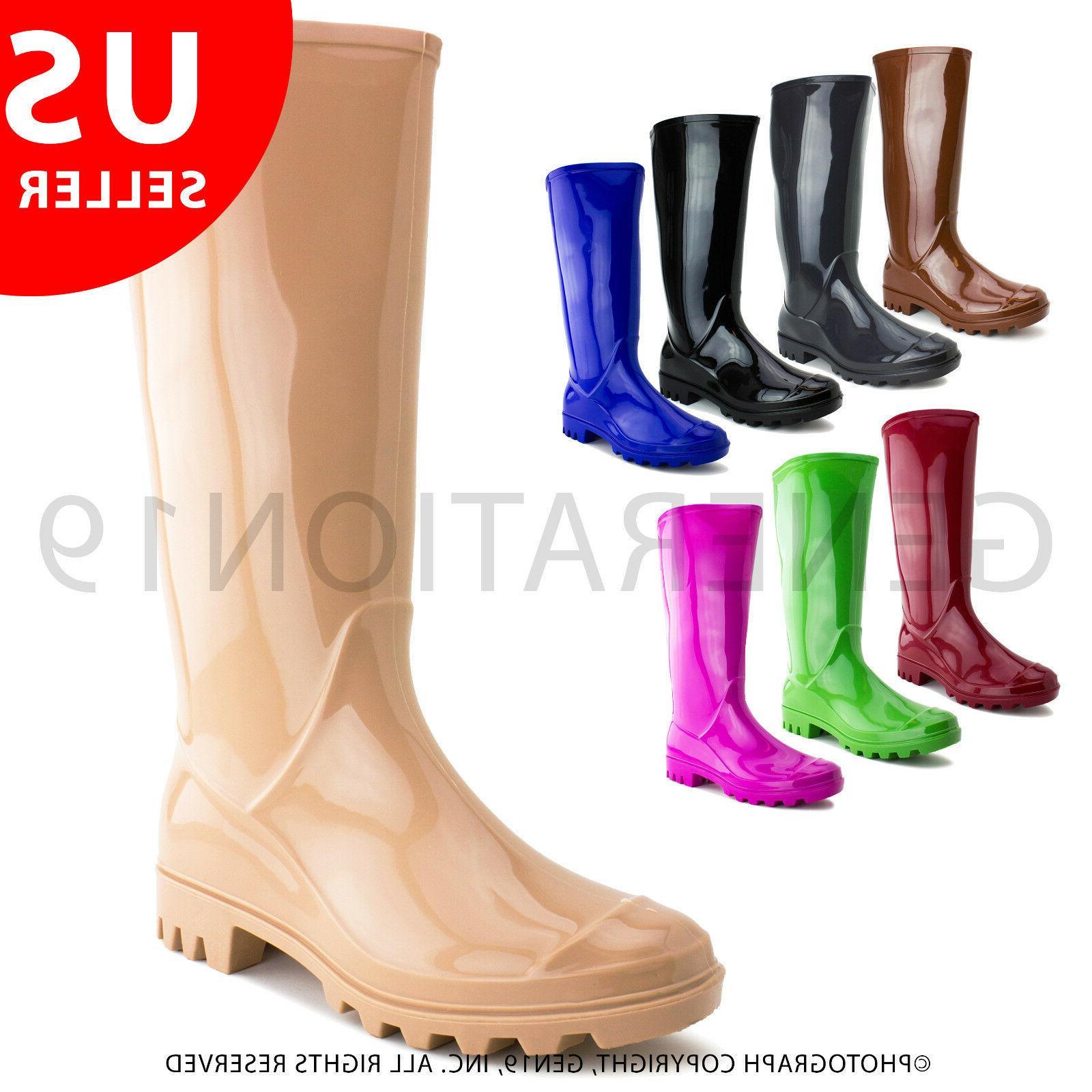 womens outdoor rain gardening snow boots rb010