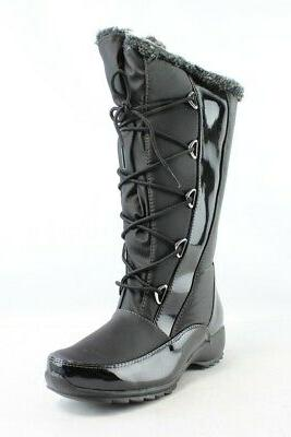 Maine Woods Womens Raptor Black Snow Boots