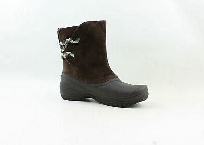 The North Shellista Brown Snow Boots Size