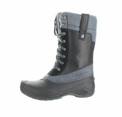 womens shellista iii black snow boots size