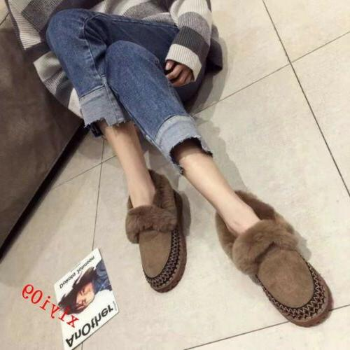 Boot Fur Winter Round Toe On Casual