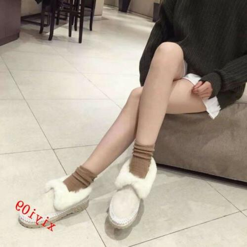 Womens Snow Boot Round Pull Casual Warm
