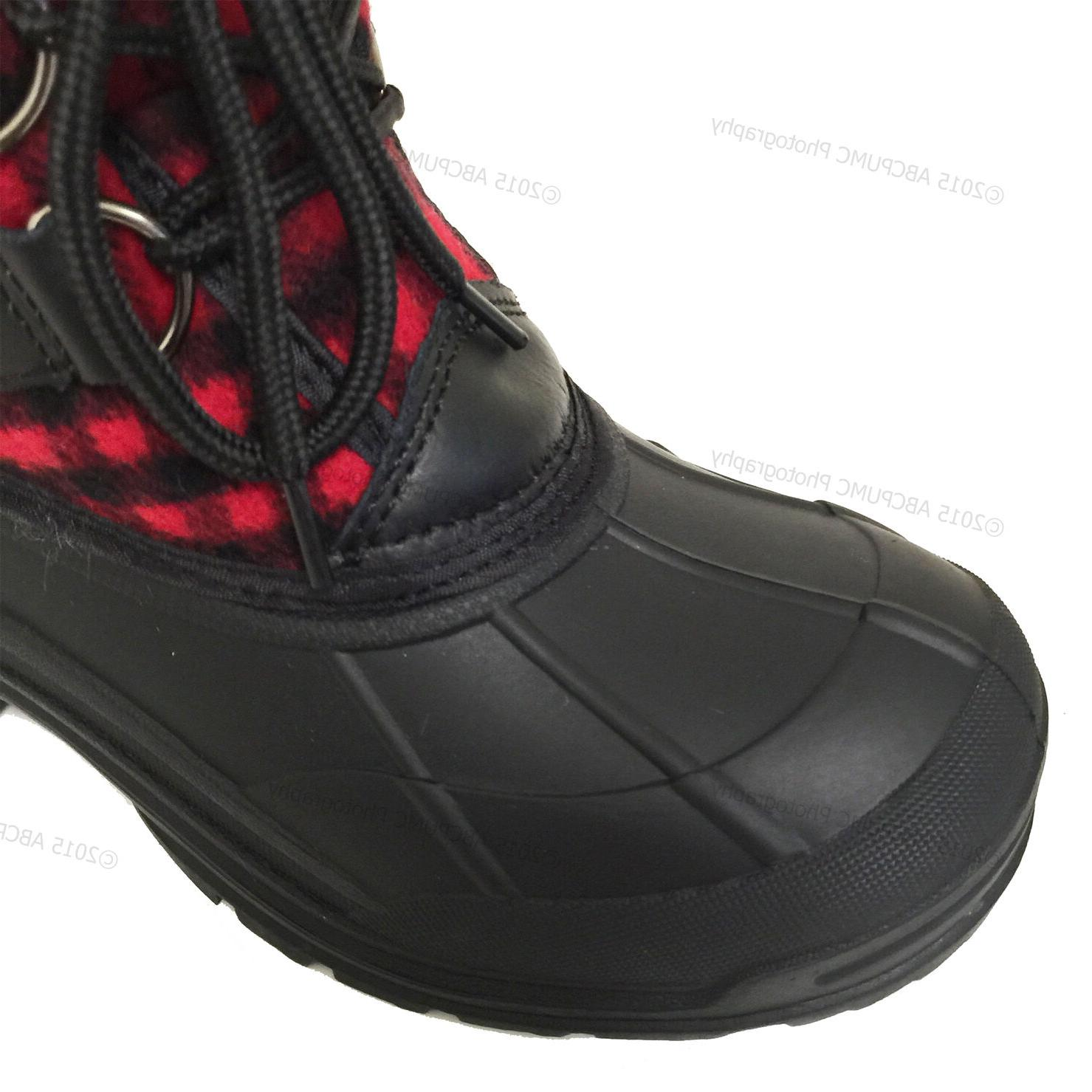 New Women's Winter Boots Flannel Warm Insulated