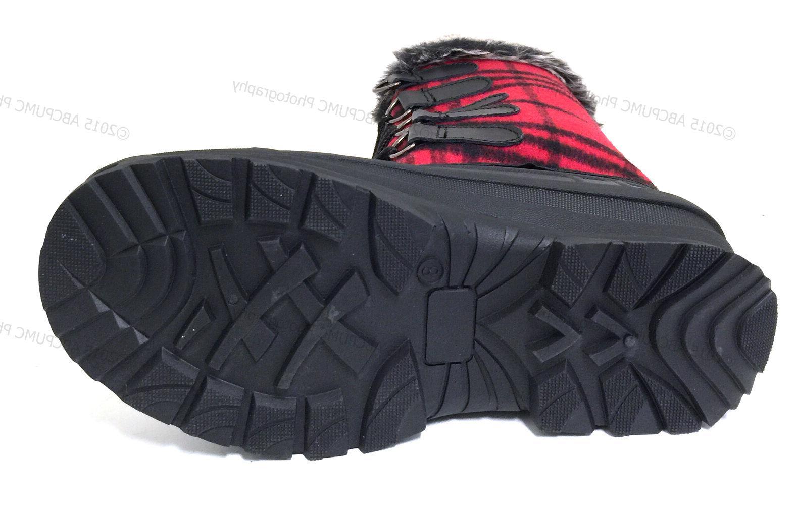 New Winter Boots Flannel Fur Warm