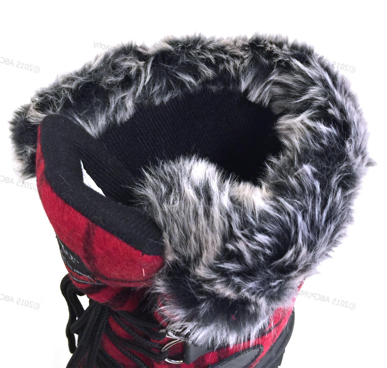 New Women's Flannel Fur Warm Insulated