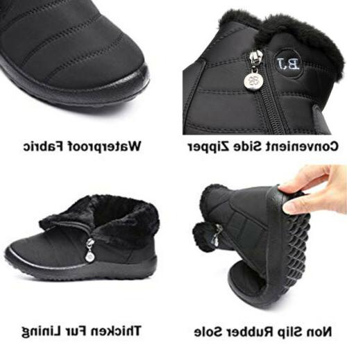 Boots Fur Outdoor Flat Shoes