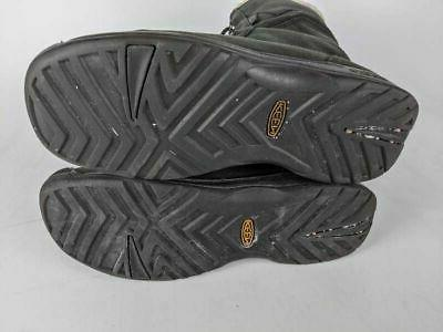 Keen Boots Black Leather Insulated Waterproof