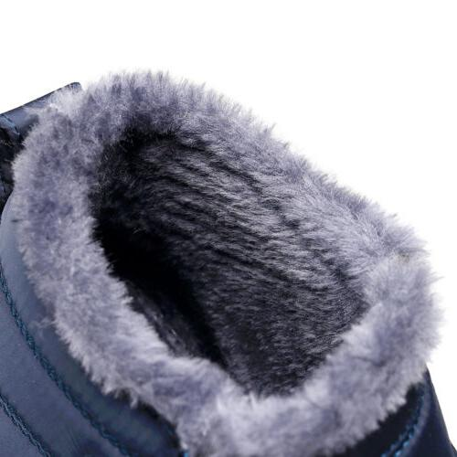 Womens Warm Booties Slip Shoes