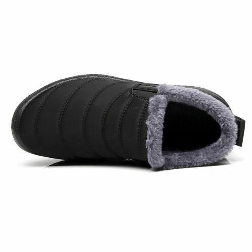 Fur-lined Slip Ankle US
