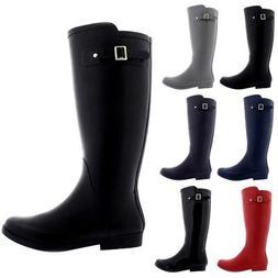 Ladies Original Long Tall Waterproof Snow Rain Wellies Welli