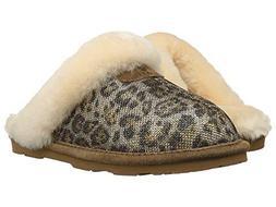 BEARPAW Women's Lauren Snow Boot  US, Gold/Leopard)