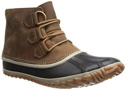 Women's Sorel 'Out N About' Leather Boot, Size 6.5 M - Brown