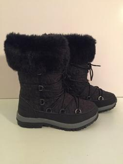 Bearpaw Leslie Women's Waterproof Sheepskin Snow Boots New