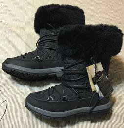 Bearpaw Leslie NEW w/Tags Women Gray Waterproof Snow Boots w