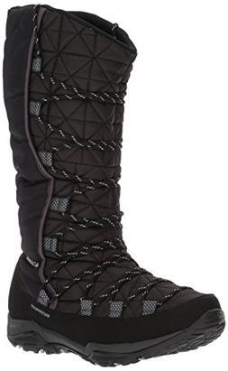Columbia Women's Loveland Omni-Heat Snow Boot, Black, Earl G