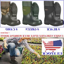 HISEA Men & Women's Boots Unisex Waterproof Garden Rain Snow