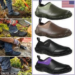 HISEA Men & Women's Unisex Boots Waterproof Garden Shoes Rai