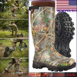 HISEA Men's Hunting Boots Waterproof & Insulated Neoprene Ru