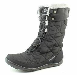 Columbia Women's Minx Mid II Omni-Heat Winter Boot, Black/Ch