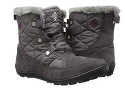 Columbia Minx Shorty Boots Womens Omni-Heat Waterproof Suede