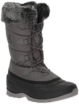 Kamik Women's Momentum 2 Snow Boot, Charcoal, 7.5 B US