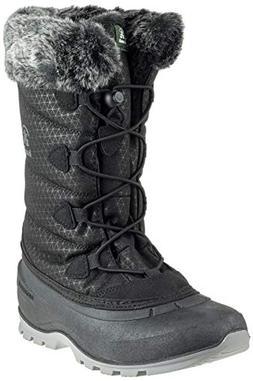 Kamik Women's Momentum 2 Snow Boot, Black, 7.5 B US